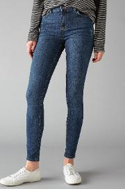 Pieces , Delly Skinny Jeans, Medium Blue
