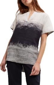 Jaeger , Degrade Print Top