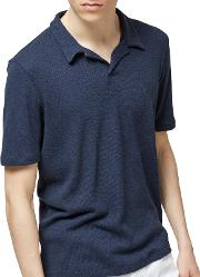Selected Homme , Freddy Polo Shirt, Dark Sapphire