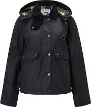 Barbour Heritage , Summer Spey Waxed Jacket, Navy