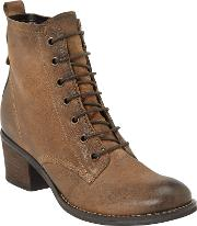 John Lewis , Harper Lace Up Ankle Boots