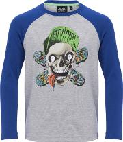 Animal , Boys' Ripptide Long Sleeve T Shirt, Bluegrey