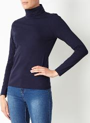 John Lewis , Roll Neck Jersey Top