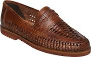 Bertie , Bryant Park Woven Leather Moccasins