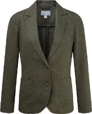 Pure Collection , Laundered Linen Jacket