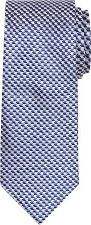 Chester By Chester Barrie , Chevron Woven Silk Tie