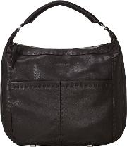 Liebeskind , Yonkers Milano Leather Heavy Stitch Hobo Bag