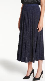 Bruce By Bruce Oldfield , Pleated Knit Skirt