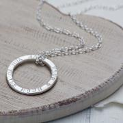 Chambers & Beau , Personalised Halo Knotted Necklace