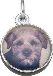 Under The Rose , Personalised Tiny Photo Charm