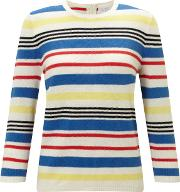 Collection Weekend By John Lewis , Stripe Knit Jumper