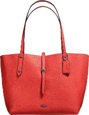 Coach , Market Leather Tote Bag