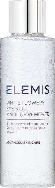 Elemis , White Flowers Eye And Lip Makeup Remover