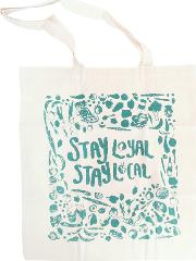 Jane Katherine Houghton , Stay Local Tote Bag