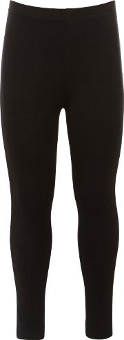 John Lewis , Girl Basic Leggings, Black