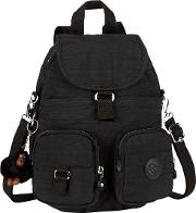 Kipling , Firefly N Medium Backpack, Dazz Black