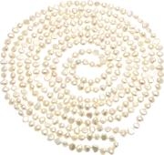 Lido Pearls , Freshwater Pearls 100 Inch Pearl Rope Necklace, White