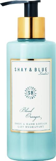 Shay & Blue , Blood Oranges Body & Hand Lotion, 200ml