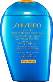 Shiseido , Wetforce Expert Sun Aging Protection Lotion Spf 50 , 100ml