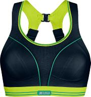 Shock Absorber , Ultimate Run Non Wired Sports Bra, Blacklime