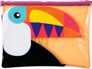 Sunnylife , See Through Toucan Beach Pouch