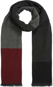 Brora , Cashmere Colour Block Stole
