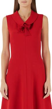 Marc Cain , Sleeveless Flared Dress, Red