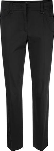 Marc Cain , Tapered Leg Trousers, Black
