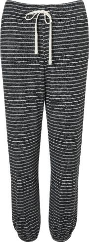 Sundry , Striper Sweat Pants, Heather Grey