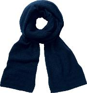 Pure Collection , Nadia Cashmere Scarf, Navy
