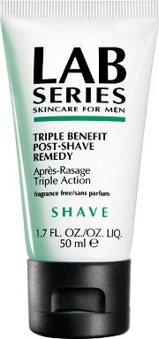 Lab Series , Shave, Triple Benefit Post Shave Remedy