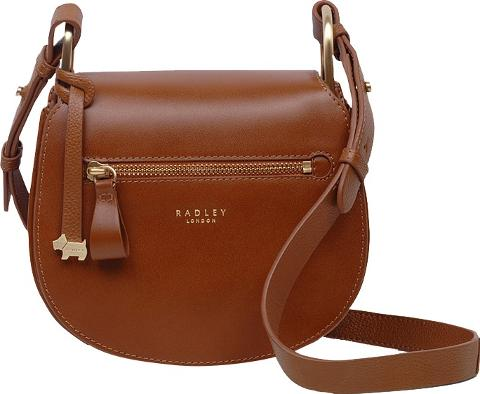 Radley Camley Street Leather Flapover Across Body Bag A Stylish And Sleek 70 S Inspired