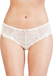 Collection By John Lewis , Genevieve Lace Briefs, White