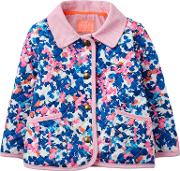 Joules , Baby Joule Mabel Quilted Jacket, Bluepink