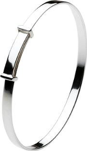 Kit Heath Girls , Christening Bangle, Silver