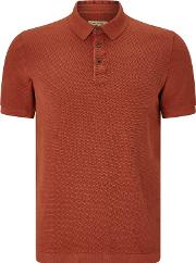 John Lewis & Co , . Knitted Texture Polo Shirt