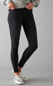 Pieces , Five Delly Skinny Jeans, Black