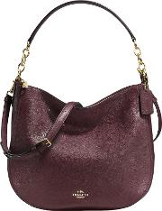 Coach , Chelsea 32 Polished Leather Hobo Bag