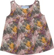 Serendipity , Baby Printed Pinafore Dress, Multi