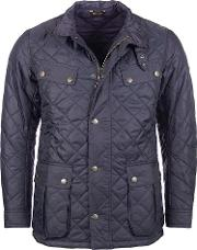 Barbour International , Ariel Profile Quilted Jacket, Navy