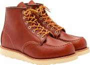Red Wing , Moc Oro Russet Portage Toe Boot