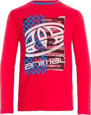 Animal , Boys' Board Print Long Sleeve T Shirt