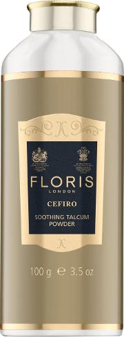 Floris , Cefiro Soothing Talc With Aloe Vera