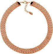 Finesse , Chunky Mesh Collar Necklace