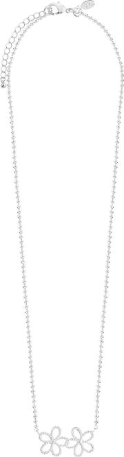 Joma , Ditzy Daisy Chain Necklace, Silver