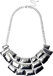Adele Marie , Beaten Effect Collar Necklace