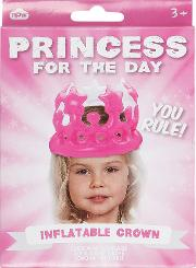 Npw , Princess For The Day Inflatable Crown