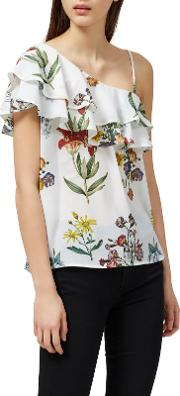 Selected Femme , Dixie Floral Print Top