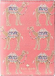 Kate Spade New York , Spice Things Up Camel March Passport Holder