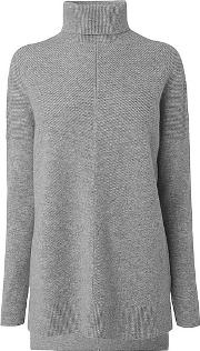 Maya , Grey Wool Cashmere Knitted Top